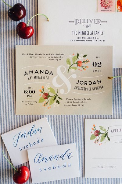 Pecan Springs Ranch Wedding by Feather & Twine - Southern Weddings