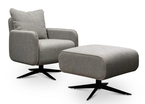 Design Fauteuil Met Hocker.Shoppingtip Sober Stoer En Tijdloos Design In De Banken En