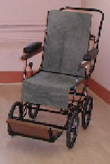 A folding chair by   Allwin, dating from   the 1930's