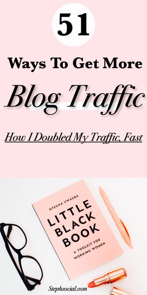 51 Ways To Get More Blog Views | Blogging Tips | Blog Traffic Tips | Blogging For Beginners | SEO Tips #bloggingtips #blogtraffic #blogtips #bloggingforbeginners #blogging101 #seotips #keywordresearch