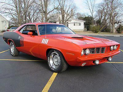 1971 Plymouth Barracuda 440 4 Speed Plymouth Muscle Cars Old Muscle Cars Plymouth Barracuda