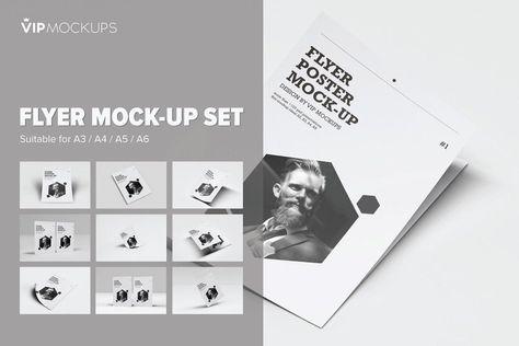 Flyer Mock-Up Set