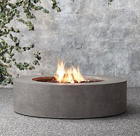 Mendocino Fire Tables Restoration Hardware Fire Firepit Firepit Area Firepit Diy Firepit Ideas Firepit Modern In 2020 Fire Table Fire Pit Patio Round Fire Pit
