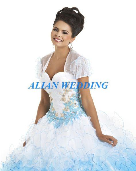 >> Click to Buy << Vizcaya Quinceanera Dresses Trajes De Quinceaneras Beading Appliques Size 2 6 8 10 +++ Vestido De 15 Anos Organza Puffy PF517 #Affiliate