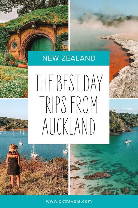 best day trips for Auckland. New Zealand travel to beautiful places #new zealand