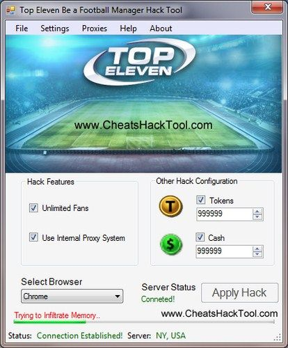 Top Eleven Be A Football Manager Hack Tokens Cash Trainer Cheats
