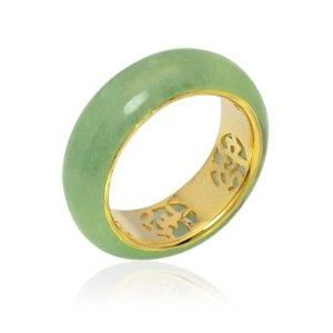 jade ring green man genuine gemstone gold plated sterling silver hand crafted 925 by regnas on etsy jade rings for sale pinterest jade ring - Jade Wedding Ring