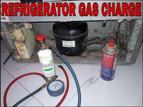 Refrigerator Gas Charging And Fridge Repair R134a Refrigerant Not Cooling Youtube Fridge Repair Refrigerator Repair Gas Refrigerators