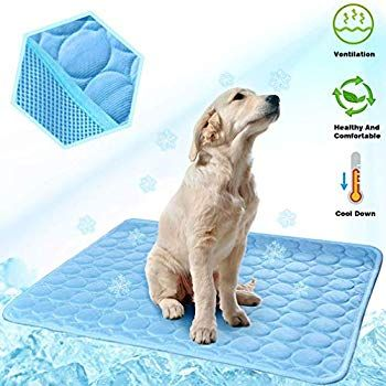 Meilimiyu Dog Cooling Mat Pet Self Cooling Pad Dog Cooling