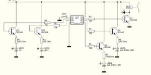 Schaltplan für unsere Druckknopk-Aktions-Drücker an der Modellbahn ...