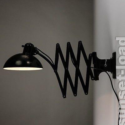 30er50er Bauhaus Gross Idell Kaiser Lam Lampe Leuchte