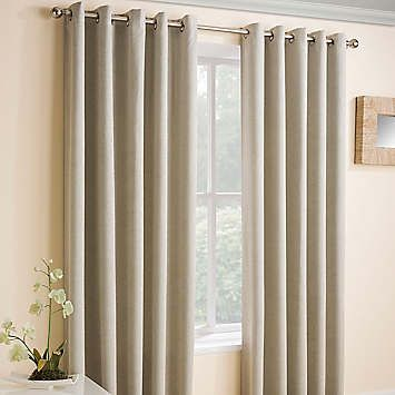 Vogue Pair Of Eyelet Lined Thermal Blockout Curtains By Kaleidoscope Kaleidoscope In 2020 Eyelet Curtains Ideas Thermal Curtains Curtains