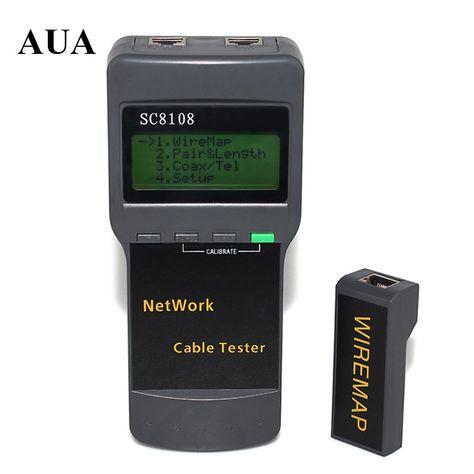 1mw 1~5km Schwarz Visual Fault Locator Glasfaser Laser Kabel Tester Ausrüstung