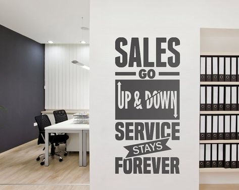 Office Wall art - Corporate - Office supplies - Office Decor - Office art - Typography Decal - Office Sticker - Office Sign To view more Art that will look gorgeous on Your Walls Visit our Store: