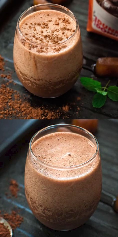 This Coffee Smoothie is so tasty and has a wonderful texture. It'll become your favorite in no time. Visit Cooktoria for detailed instructions and make this delicious treat at home. #coffee #smoothie #drink #workout #recipeoftheday