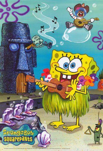 Official Spongebob Cast Maxi Poster 91.5 x 61cm Characters Bikini Bottom Patrick