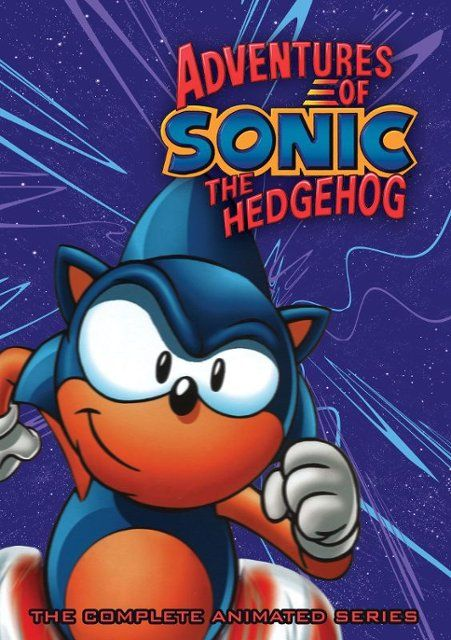 Adventures Of Sonic The Hedgehog The Complete Animated Series Juvenile Dvd 7 16 19 Sonic The Hedgehog Sonic Animation Series