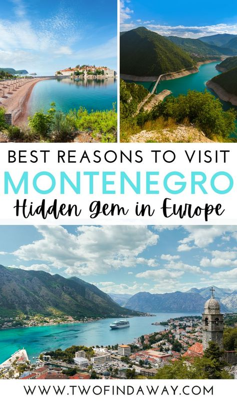 Most Beautiful Places in Montenegro