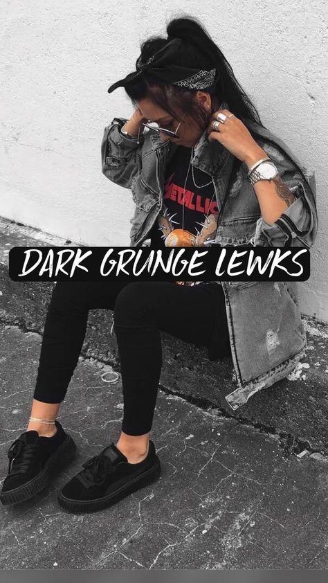 DARK GRUNGE LEWKS