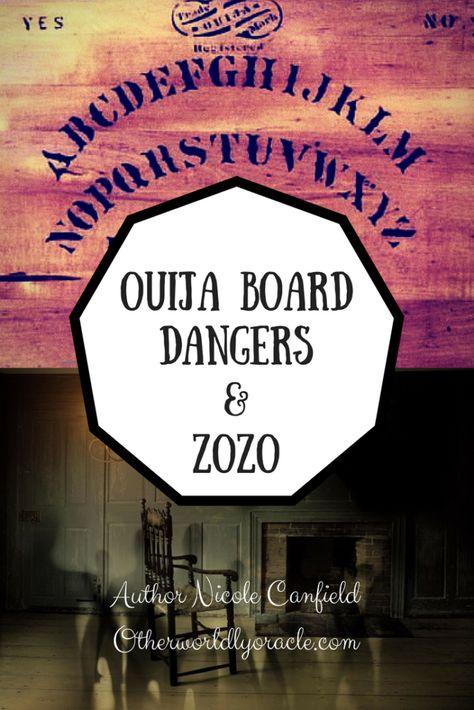 Ouija Board Dangers include attachment by the Zozo demon.