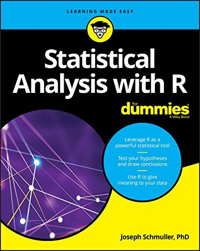 Statistical Analysis with R For Dummies Pdf Free Download | IT e