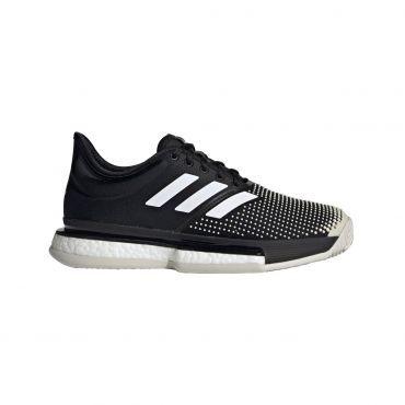 adidas Solecourt Boost Clay G26305 tennisschoenen dames core ...