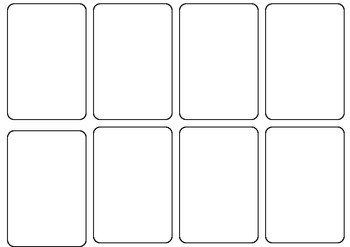 Playing Card Template Word Blank Card Game Template By Persha Darling Card Template Best Templates Template Design