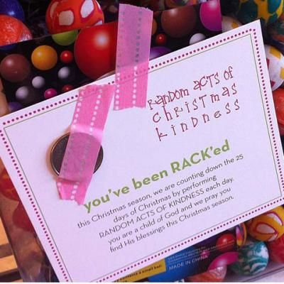 Random Acts of Christmas Kindness {Christmas Holidays} Here is a fantastic post where she took Christmas cheer to a new level! Instead of a traditional Christmas advent calendar try a kindness countdown calendar! A fabulous way to get your kids involved with thinking and helping others first during the holidays! View This Tutorial