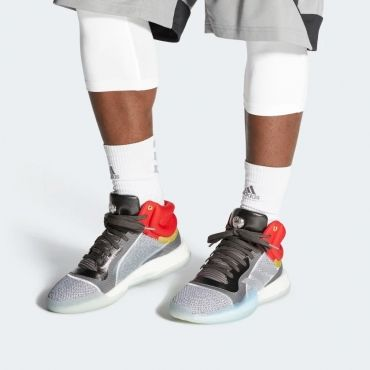 mientras Melancólico ganso  adidas x Marvel Marquee Boost Thor - BASKETBALL SHOES Adidas Basketball  Shoes - Superfanas.lt | Boost shoes, Adidas, Basketball shoes