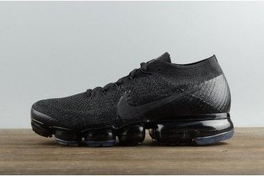 New Arrival Nike Air VaporMax Flyknit Free Lace Men's Sports Shoes All Black 849558 001