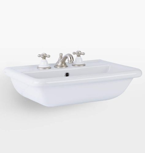 Higgins Wall Mount Powder Sink