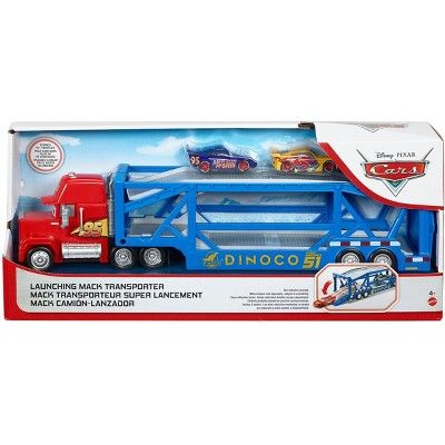 Disney Pixar Cars Launching Mack Transporter Pixar Cars Disney Pixar Cars Disney Cars