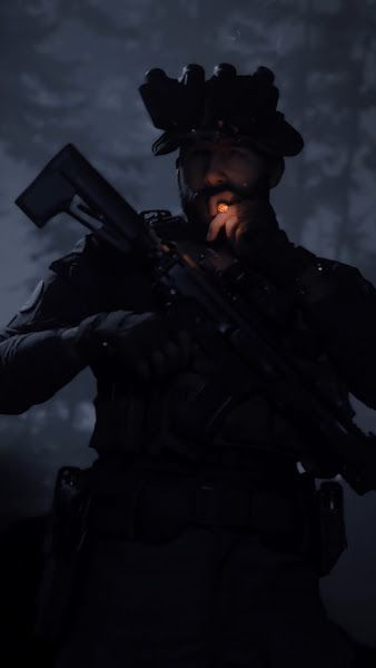 Call of Duty: Modern Warfare, Captain Price, Smoking, 4K,3840x2160, Wallpaper