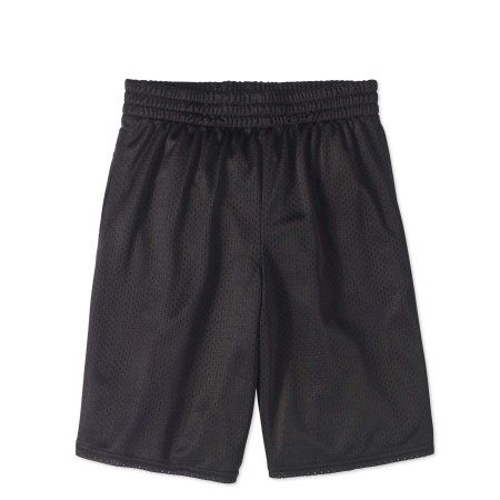 Athletic Works - Active Mesh Shorts (Little Boys & Mesh Boys) - Walmart.com    Athletic works, Shorts, New black