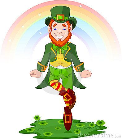 107 best st paddys day images on pinterest st patricks day full length drawing of a leprechaun dancing a jig for st patrick s day stock vector ccuart Choice Image