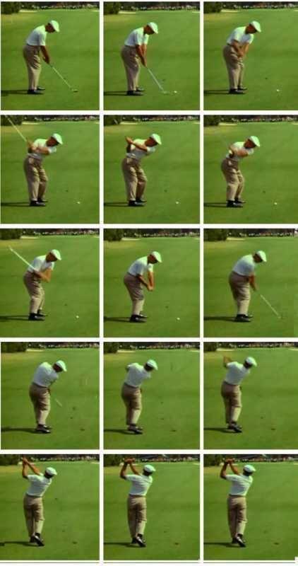 How To Fix Your Golf Swing Slice Ben Hogan Golf Swing
