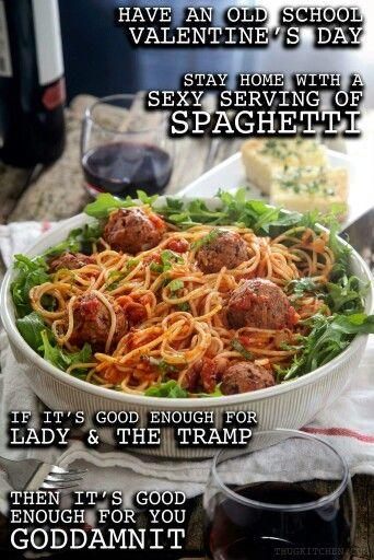Thug Kitchen spaghetti. It's good enough for you goddammit.