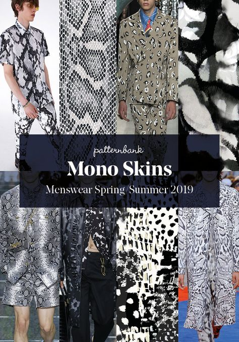 Menswear Spring/Summer 2019 – Print and Pattern Trend Hightlights - Moda Femminile