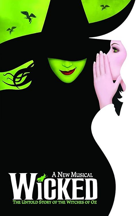 NEW Wicked (Broadway) Poster x 17 Inches - x Master Poster Wicked Musical Broadway, Wicked Musical Quotes, Broadway Theatre, Musical Theatre, Broadway Shows, Musicals Broadway, Broadway Posters, Concert Posters, Theatre Posters