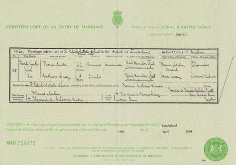 Martinews - 52 Ancestors in 52 weeks: #FearlessFemales - Day 4 - Marriage Records #genealogy