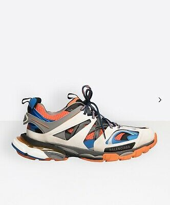 Balenciaga Off white And Orange Track Sneakers for Men Lyst