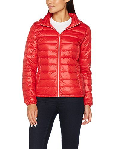 United Colors of Benetton Damen Jacke Jacket Rot (Red 81L