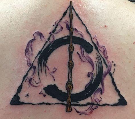 Super Tattoo Ideas Harry Potter Deathly Hallows Tat Ideas