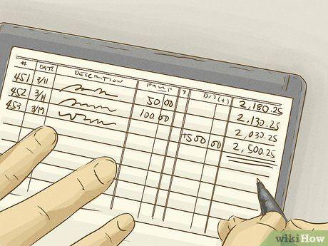 How To Balance A Checkbook Checkbook Life Skills Balance