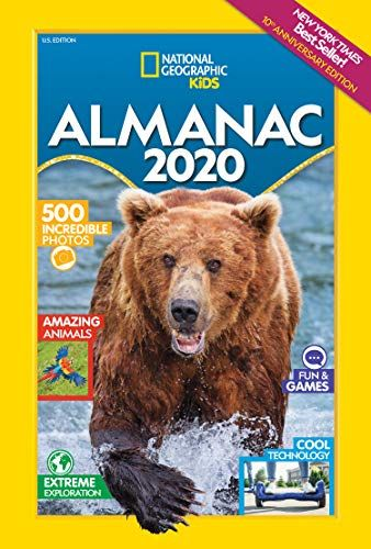 Ny Times Best Sellers 2020.Download Pdf National Geographic Kids Almanac 2020