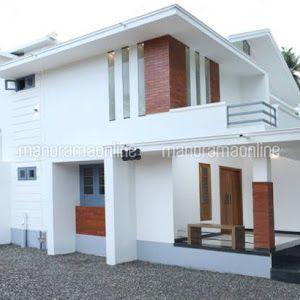 3 Bedroom Modern Home Design 4 5 Cent 1540 Sqft 24 Lakhs Modern House Design Kerala House Design Simple House Plans