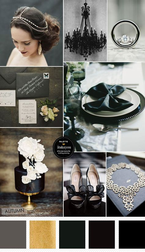 Halloween Wedding Theme - Elegance and Sophistication | itakeyou.co.uk #halloween #halloweenwedding #weddingtheme