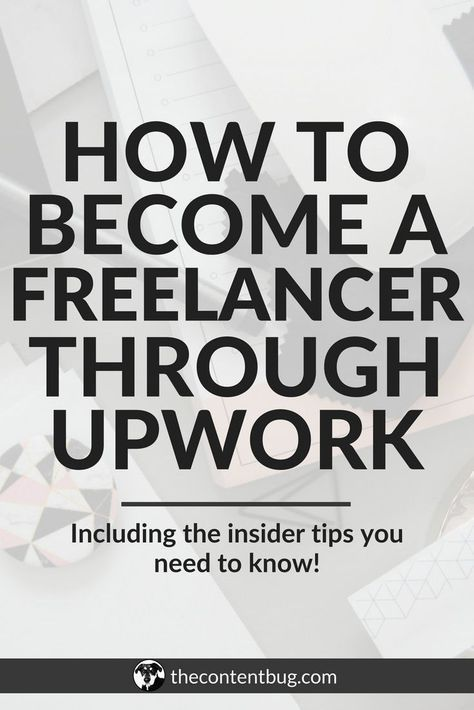 How To Become A Freelancer On Upwork In 2020