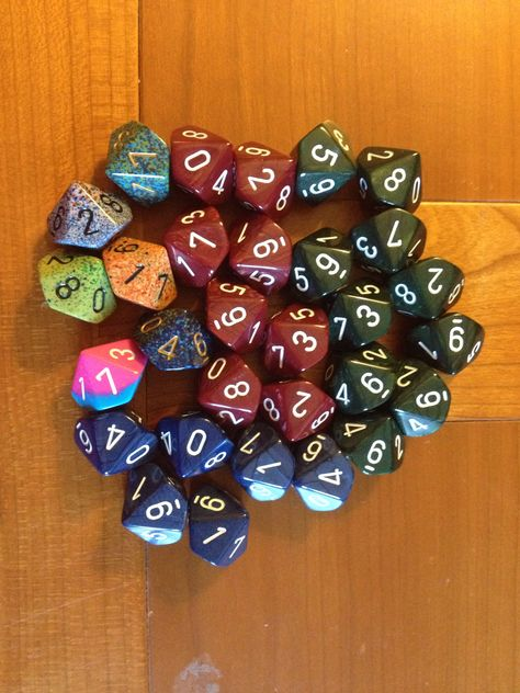 Dungeons And Dragons! Chessex Pound-O-Dice Perfect For Role Playing Games