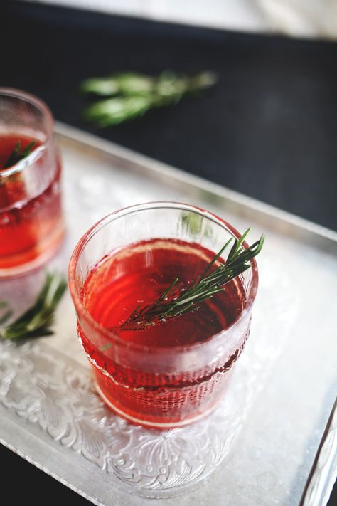 Rosemary + Cranberry Spritzer with SAGE:  Mix together: 1 part (oz) SAGE 3 parts cranberry juice 1 part club soda Rosemary